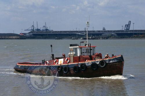 6X4 Photograph Ship Photo 10X15 1952 Built General Marine Tug NIPAROUND