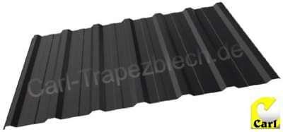Praktisch Dachplattentrapezbleche Profilbleche Dachbleche 1 Fürs Dach Wahl Anthrazitgrau 22,54 M² Top Wassermelonen Baustoffe & Holz