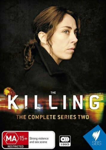 1 of 1 - The Killing : Series 2 (DVD, 2012, 3-Disc Set) NEW & SEALED