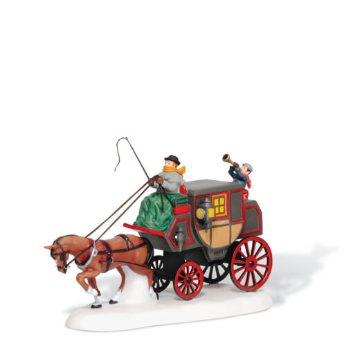 Dept 56 Dickens CROWNTREE COACH Accessory D56 Village NEW D56 DV 807228