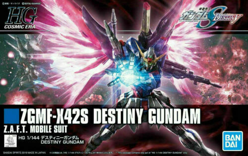 Bandai Seed ZGMF-X42S Destiny Gundam HG 1//144 Model Kit