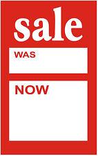 100 x 75mm x 50mm vendita era ora prezzo di vendita carte | etichette biglietti | | etichette