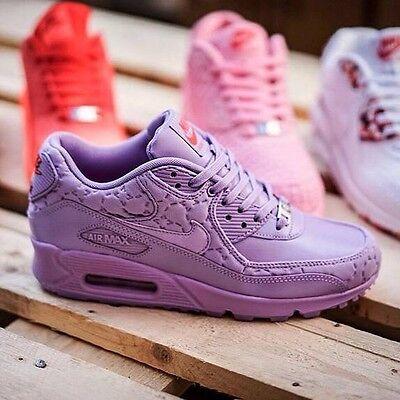 Women Wmns Nike Air Max 90 Purple