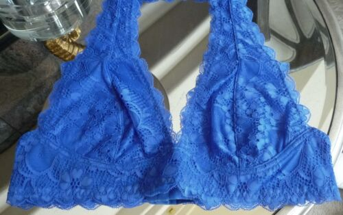 NWT Free People Bra Galloon Lace Halter Bra