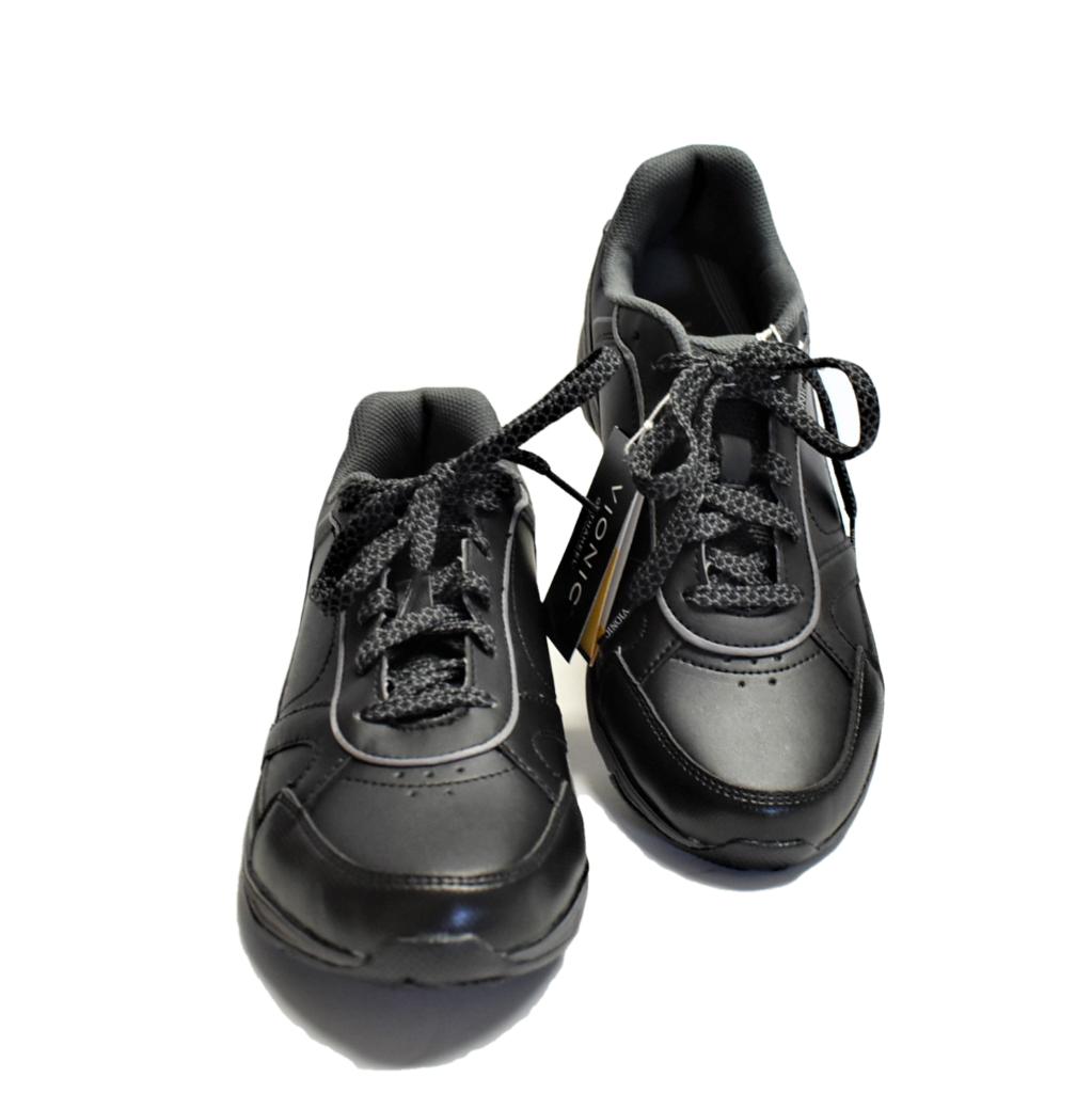 Nouveau Vionic Zen Walker femme 12 43 Chaussures de marche noir en cuir grise orthoheel