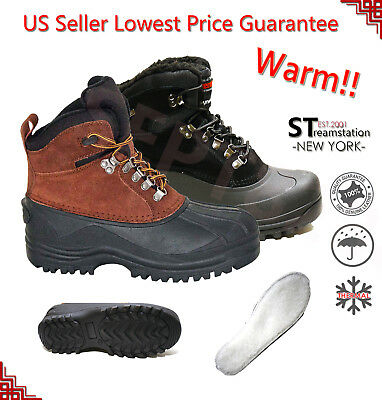LM Men's Insulated Winter Snow Boots