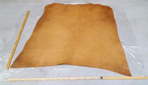 Brown Full Grain Italian Leather Hide 1.3m2-1.5m2  2.4mm Thick Veg tan
