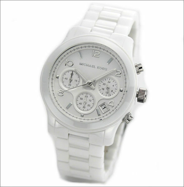 fd2fed16a98b Michael Kors Ladies  Ceramic Chronograph Watch MK5161 HY 83110 for sale  online
