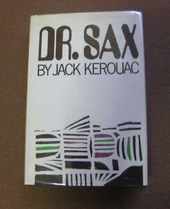 DR. SAX by Jack Kerouac - 1st HCDJ 1959 Grove Press - Beat - fine