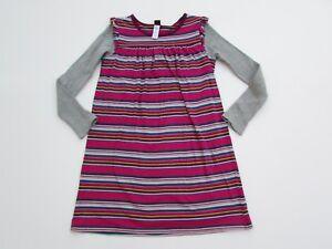 TEA-Collection-Girls-10-Waldland-Knit-Double-Sleeve-Dress-Pink-Ruby-KK1