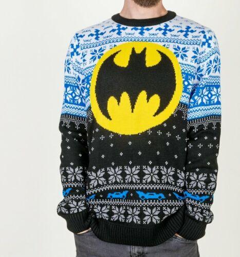 Official Batman Knitted Jumper