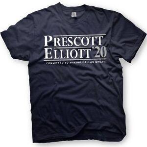 finest selection 2346a 1868a Details about Dak Prescott and Ezekiel Elliott for President - 2020  election - Cowboys shirt