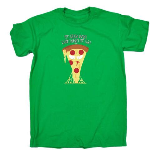 Funny Kids Childrens T-Shirt tee TShirt Bad Pizza