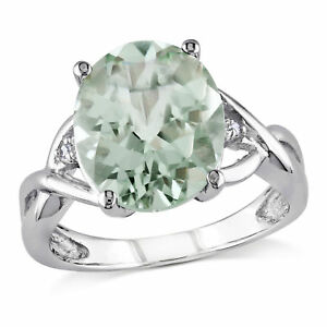 Amour-Sterling-Silver-Green-Amethyst-and-Diamond-Accent-Cocktail-Ring