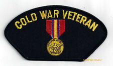 COLD WAR VETERAN HAT PATCH US ARMY MARINES NAVY AIR FORCE USCG PIN UP VICTORY