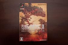 Playstation 2 PS2 Final Fantasy 12 XII International Zodiac Job System US Seller