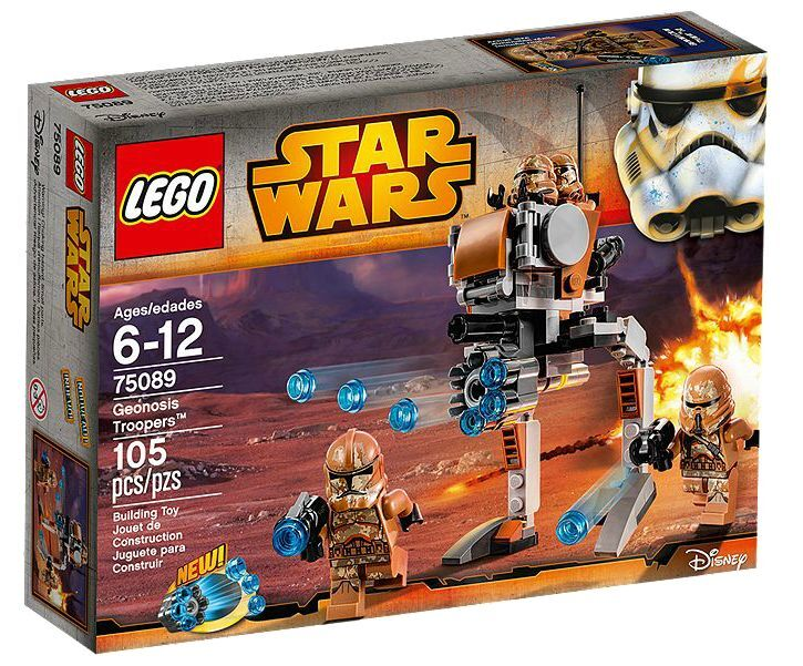 LEGO ® Star Wars ™ 75089 Geonosis Troopers ™ NUOVO OVP NEW MISB NRFB