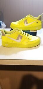 Nike-Air-Force-1-07-LV8-Utility-Size-6y-7-5-womens-Overbranding-Volt-AR1708-700