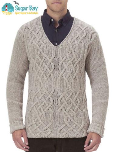 Light Stark Xxl Authenic Mens Jumper Neck Lambswool Sweater V Stone Barbour Wool nRAzRxO