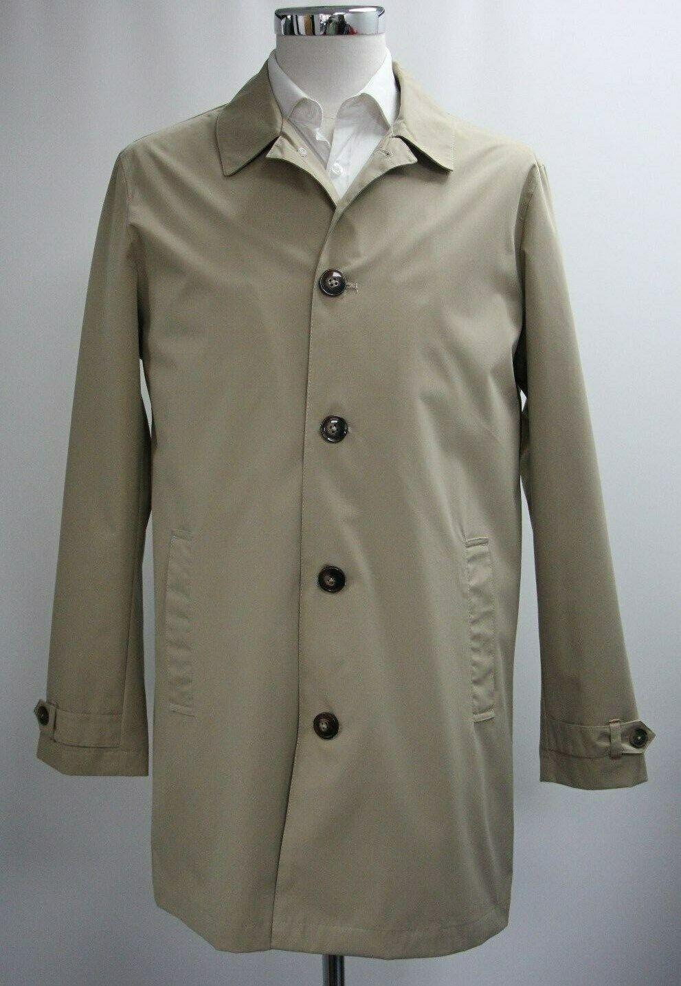 Men's Harry Brown Beige Coat (M).. Sample 4109