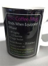 Epic Coffee Mug MMO LEGENDARY Item Fan Tasse Cup Tea Coffee Gaming Funny Gift