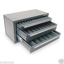 Huot Four-drawer Master Drill Bit Dispenser Cabinet for Metric ...