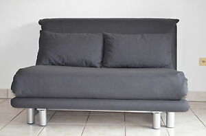 ligne roset multy 2 schlafsofa in anthrazit. Black Bedroom Furniture Sets. Home Design Ideas