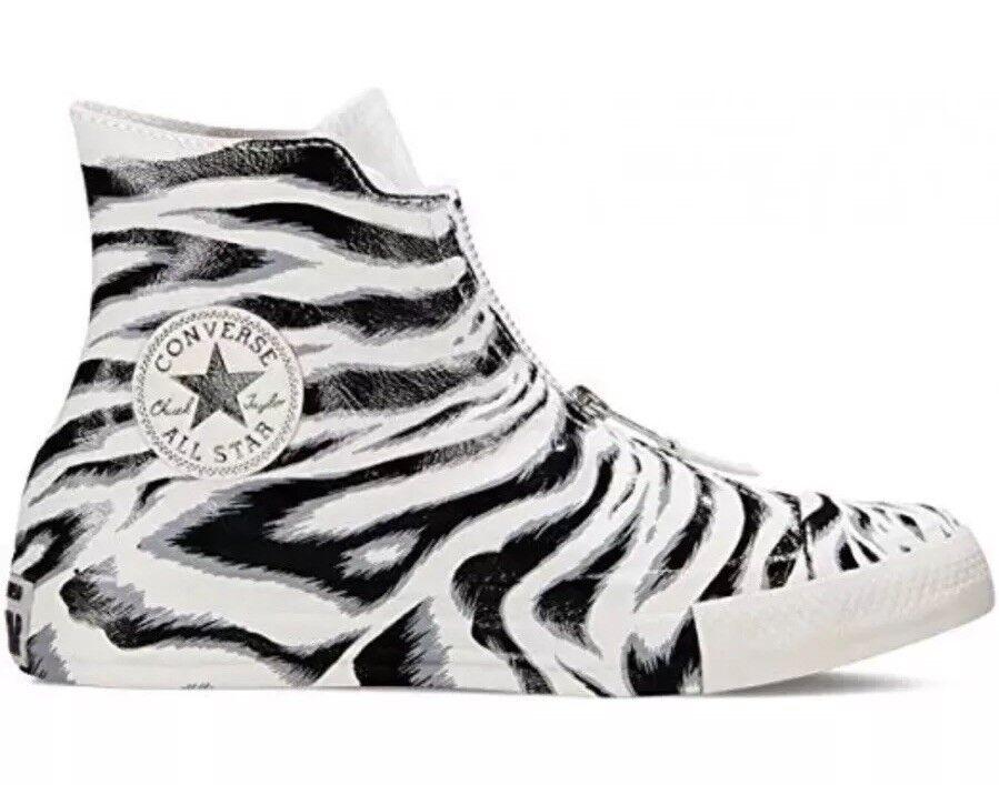 125 Converse Chuck Taylor All Star Shroud Hi Top donna's Dimensione 10 Zebra 550854C