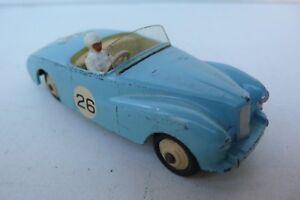 Dinky Toys England Sunbeam Alpine Compétition Ref 107 Bon État 1955