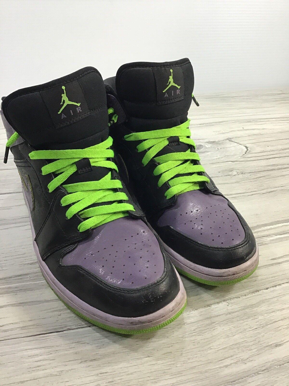 NIKE Air Jordan Retro Joker Stealth Electric Green High 10.5 Men's