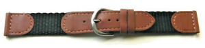 18MM-BROWN-SWISS-ARMY-STYLE-WATER-RESISTANT-LEATHER-amp-SPORT-NYLON-WATCH-BAND