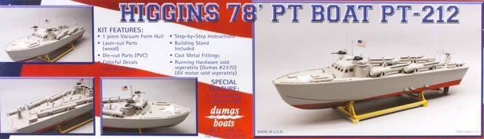 Dumas 78  Higgins Patrol PT-212  Kit 30.5 1257  più economico