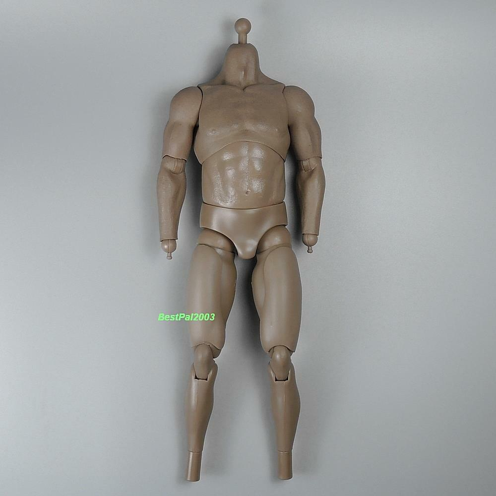 Hot Toys Toys Toys MMS163 Predators Noland Figure 1 6 Scale Muscular Body w  Pegs 6452f0