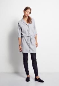 Hush Aspen Dress Grey Marl Size rrp  DH182 GG 10