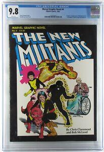 Marvel Graphic Novel 4, 1982, CGC 9.8 WP 1st Print, Origin & 1st App New Mutants