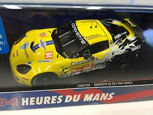 Corvette-C6-ZR1-64-Gavin-Beretta-LMGT-2-2010-Ixo-Le-Mans-1-43-Diecast-LMM199