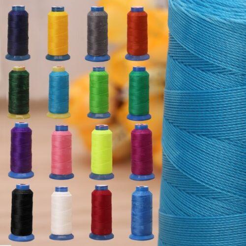 600 M 0.4 mm Cuir Tressé Ligne Couture Waxed Thread Microfibre Pour Artisanat Réparation