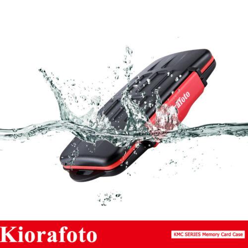 Resistente Al Agua Caja Caso Titular de la tarjeta de memoria se ajusta 6 CF 12 SD 18 Tarjetas Micro Sd