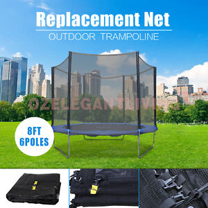 Replacement-Outdoor-Trampoline-Safety-Net-Enclosure-8ft-10ft-12ft-14ft