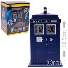 Reloj Despertador nuevo Doctor Who Tardis proyección electrónica SFX Dormitorio oficial