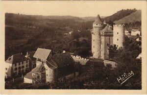 CPA Les Ternes L'Eglise et le Chateau FRANCE (1055384)