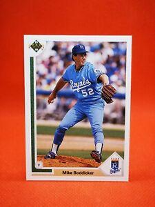 Upper Deck 1991 carte card baseball US NM+/M Kansas City Royals #719 BODDICKER