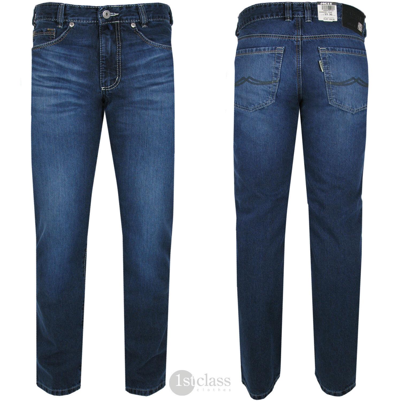 Joker Jeans Clark (Comfort Fit) 2249 0351 Dark Stone Buffies Plus Sizes