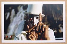 JAMES BOND 007 POSTCARD - LIVE AND LET DIE - GEOFFREY HOLDER AS BARON SAMEDI