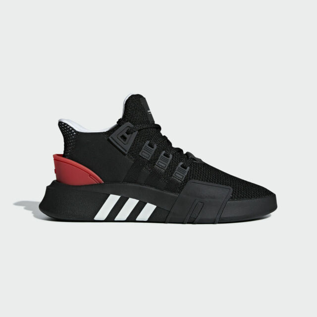 cheaper ef44d 80373 Adidas Originals EQT Bask ADV [AQ1013] Men Casual Shoes Black/White-Red