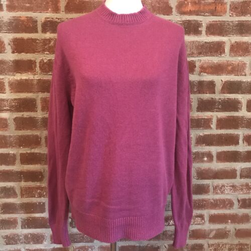 Inis Meain Women's Size Large Crew Neck Sweater Ca