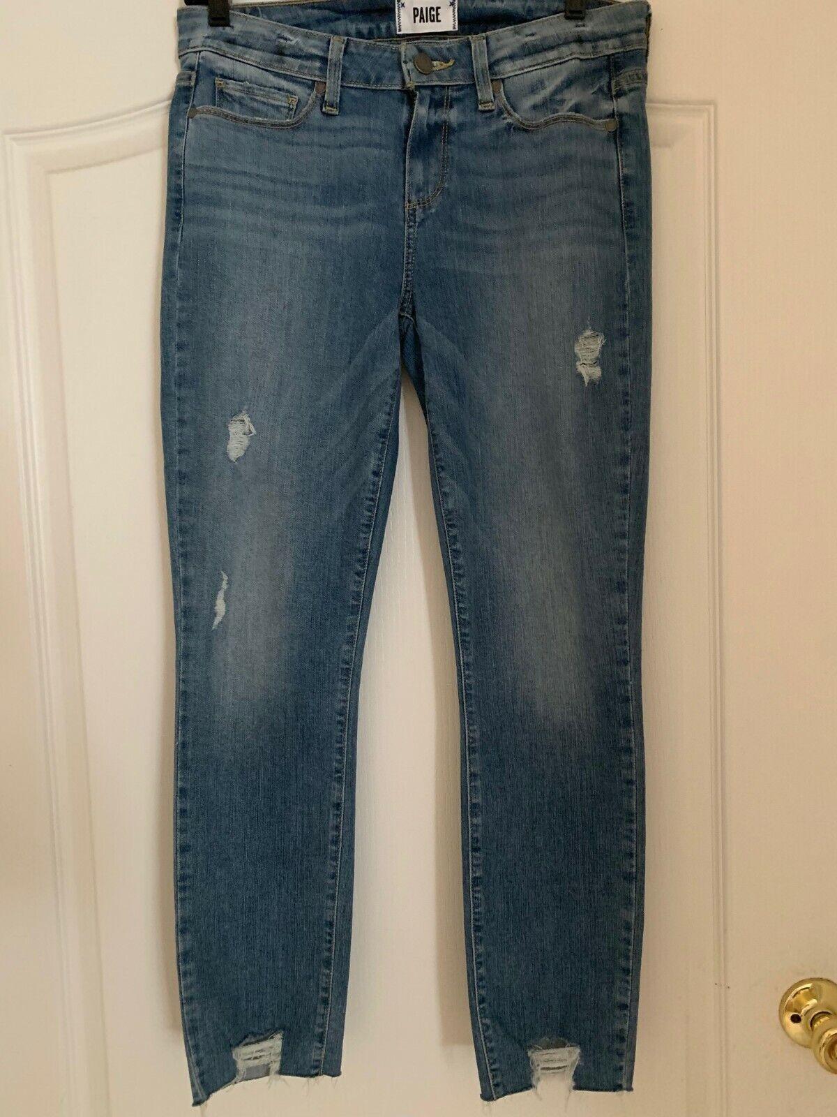 Paige Jeans Skyline Ankle Peg size 29