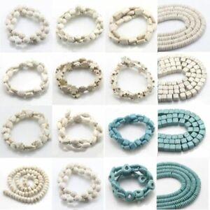 Turkey Turquoise Gemstone Spacer Beads Loose Beads Charm Strand 15.5/'/'