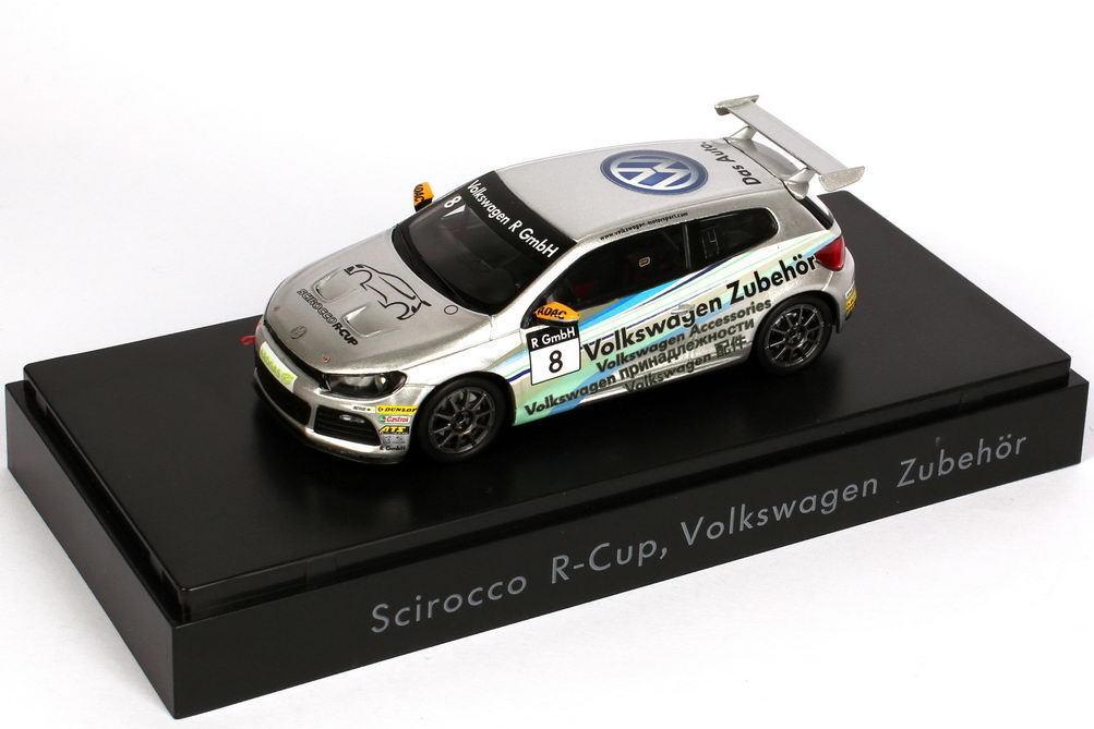 1 43 VW Scirocco III R-Cup 2011 Volkswagen Zubehör Nr.8 - Dealer-Edition - OEM