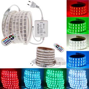 230V LED Streifen Stripe Wasserdicht Lichtband Lichterkette Küchenlampe Leuchte